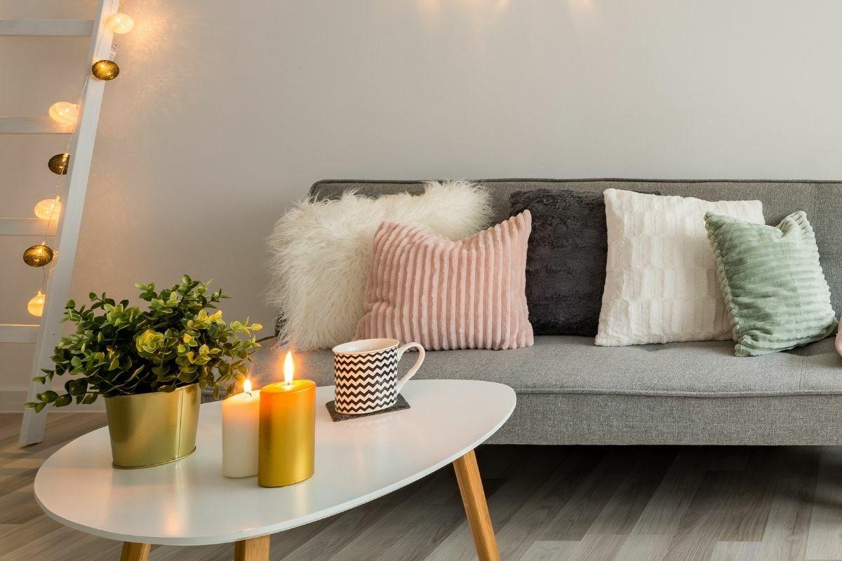 Skandináv stílusú kanapé